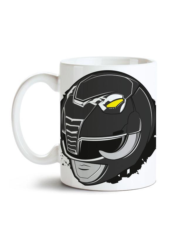 Caneca Power Rangers - Ranger Preto