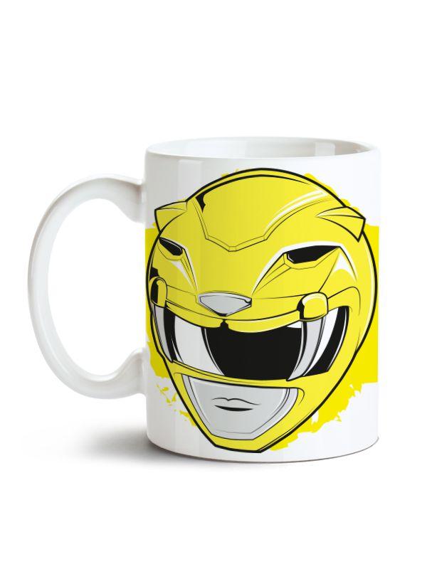Caneca Power Rangers - Ranger Amarelo