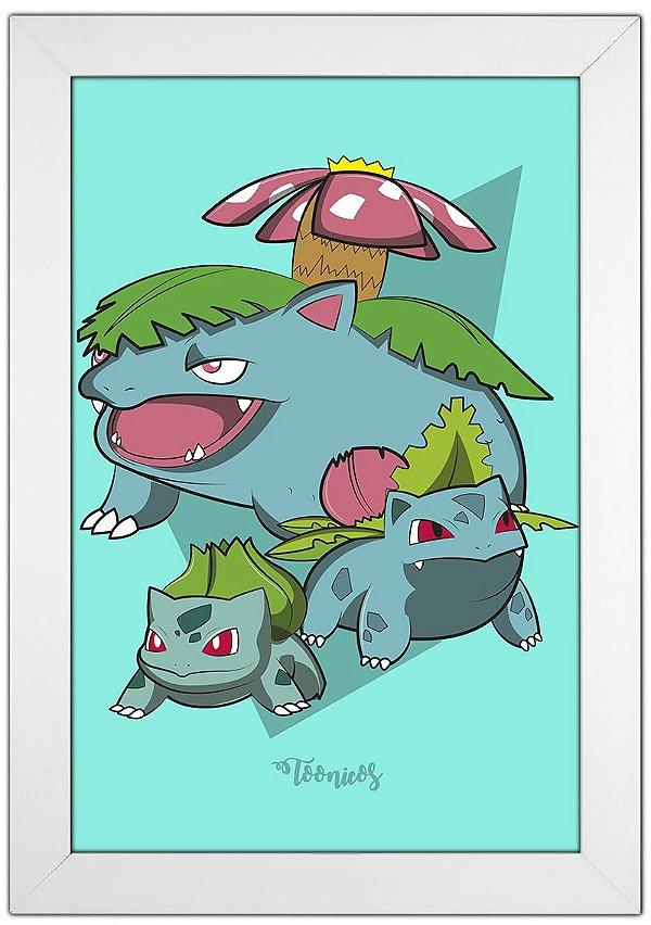 Poster Pokemon - Grama