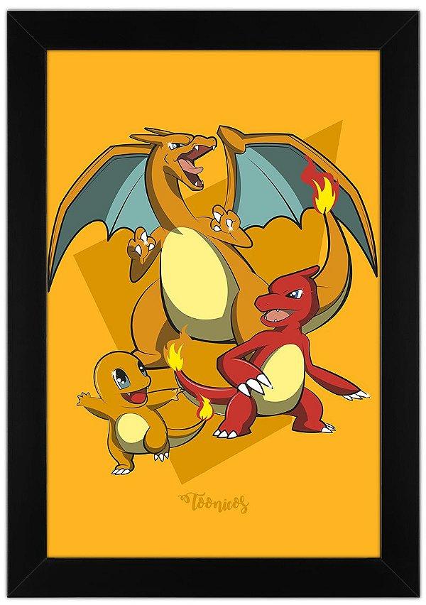 Poster Pokemon - Fogo