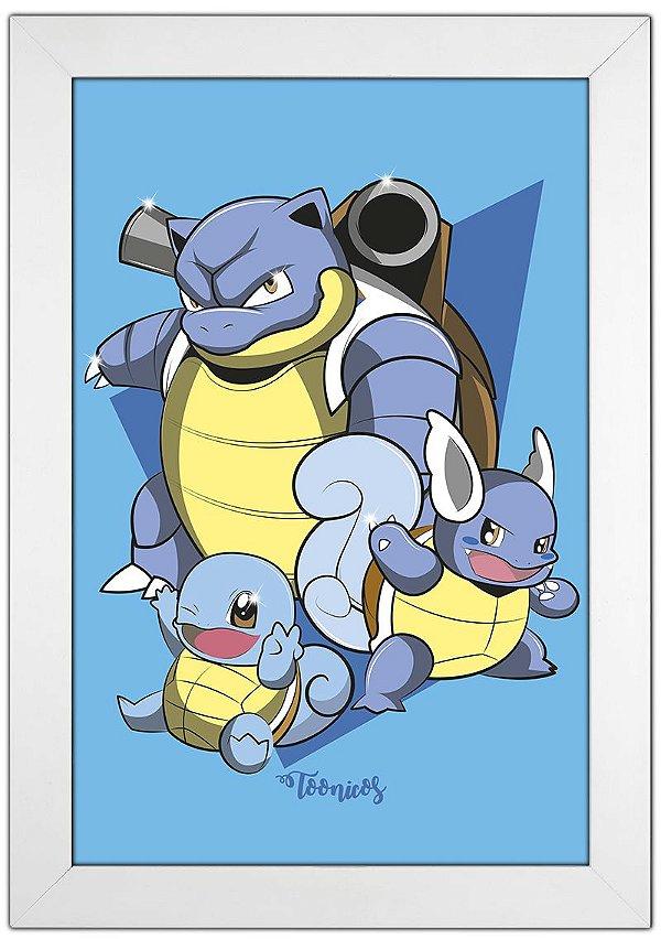 Poster Pokemon - Água