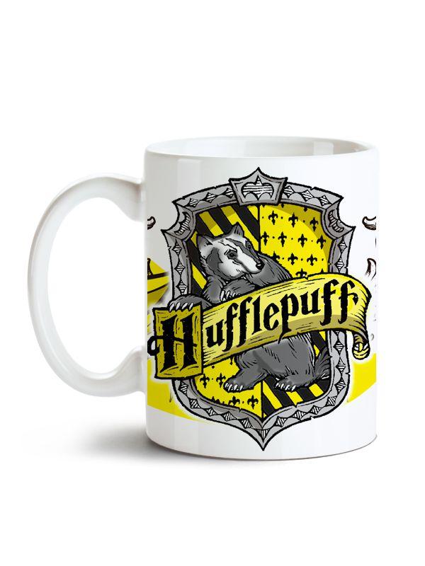Caneca Harry Potter - Hogwarts Lufa-lufa