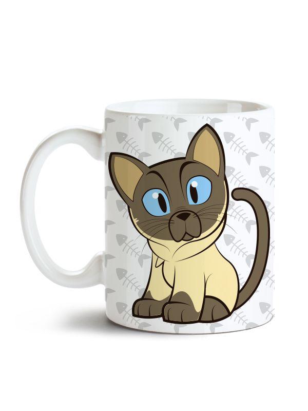 Caneca Pet - Meu Gato Siamês