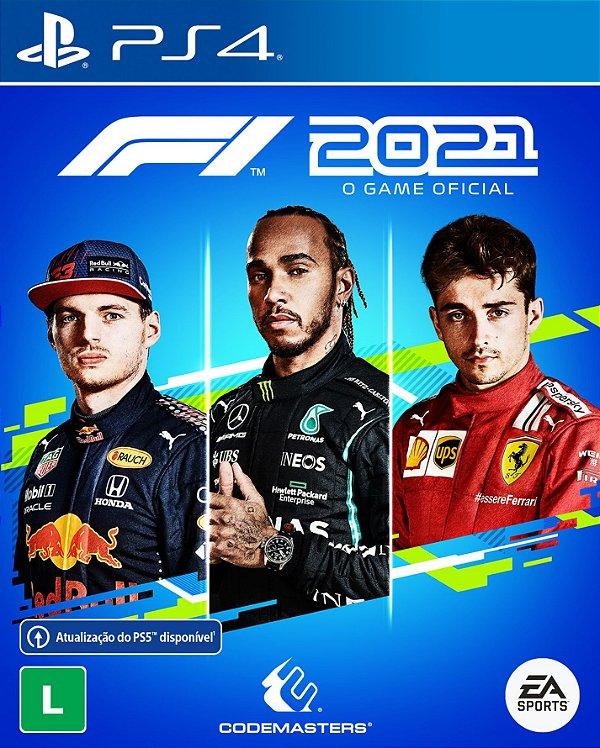 Fórmula 1 2021 - PS4 (pré-venda)