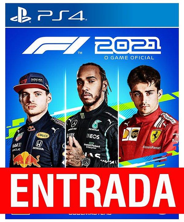 Fórmula 1 2021 - PS4 (pré-venda) [ENTRADA] o restante de cem reais você só paga quando o jogo chegar.