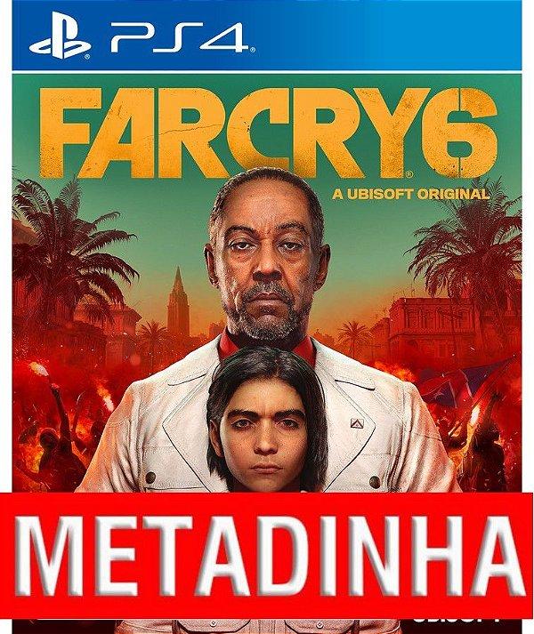 Far Cry 6 - PS4 (pré-venda)  METADINHA - a outra metade você só paga quando o jogo chegar.