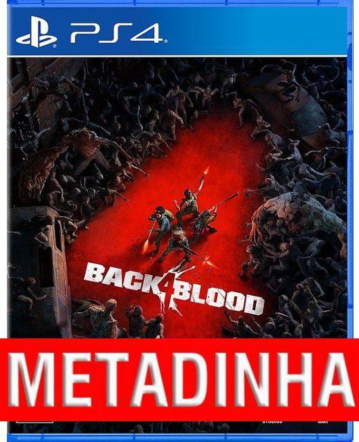 Back 4 Blood - PS4 (pré-venda) METADINHA - a outra metade você só paga quando o jogo chegar.