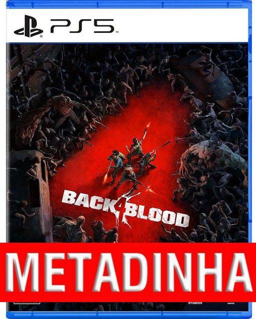 Back 4 Blood - PS5 (pré-venda) METADINHA - a outra metade você só paga quando o jogo chegar.