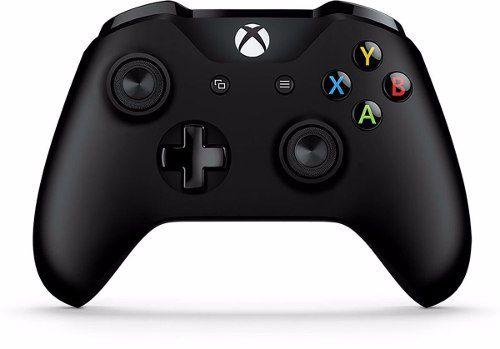 Controle Original Microsoft Wirelless c/ entrada P2 - Preto (Xbox One/S)