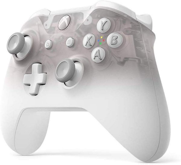 Controle Wireless Original Microsoft - Phantom White (Xbox One/S)