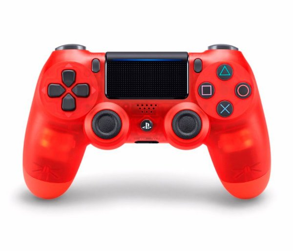 Controle Dualshock 4 Crystal - Vermelho (Ps4)