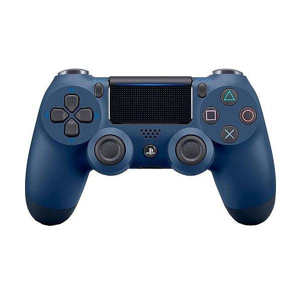 Controle Dualshock 4 - Midnight Blue