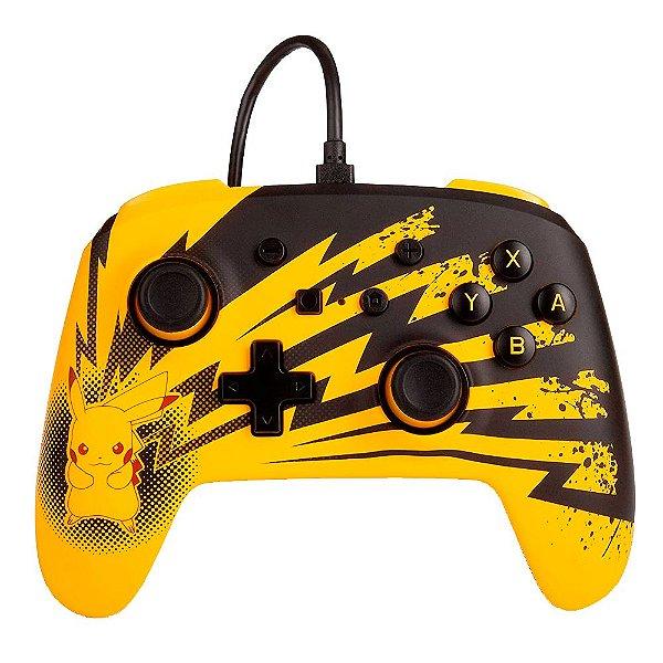 Controle Nintendo Switch PowerA - Pikachu Lightning