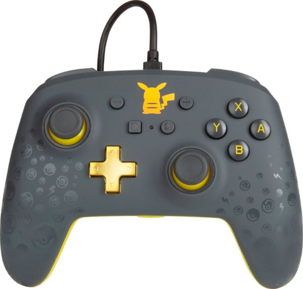 Controle Nintendo Switch PowerA - Pikachu Grey