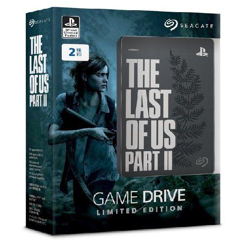 HD Externo Seagate 2TB - Edição Limitada The Last of Us