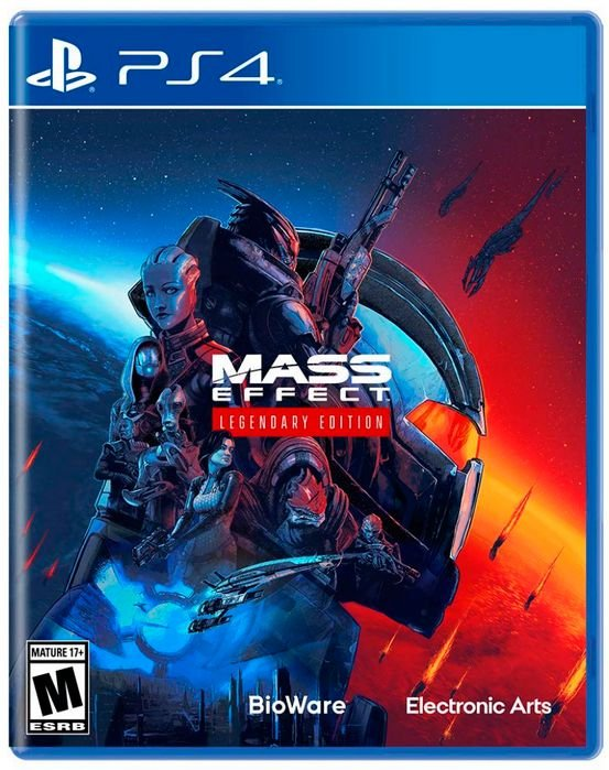 Mass Effect Legendary Edition - PS4 (pré-venda)