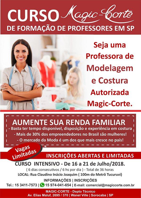 Curso Presencial de Formação de Professoras Autorizadas Magic-Corte