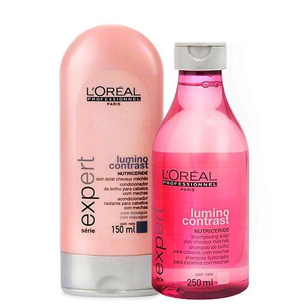 Kit Lumino Contrast Duo L'Oréal Professionnel  (2 Produtos)