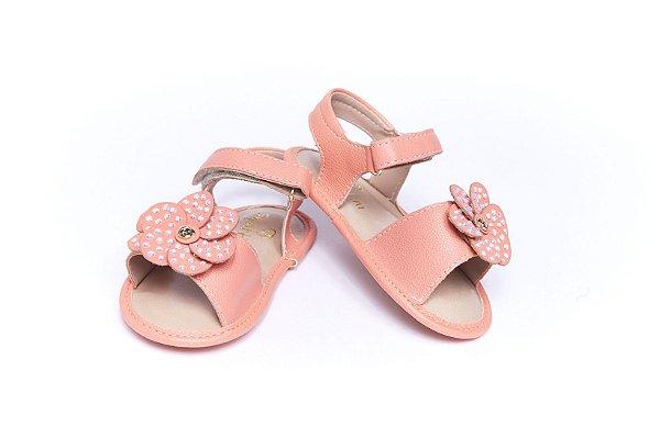 Sandália Baby Confort - Coral