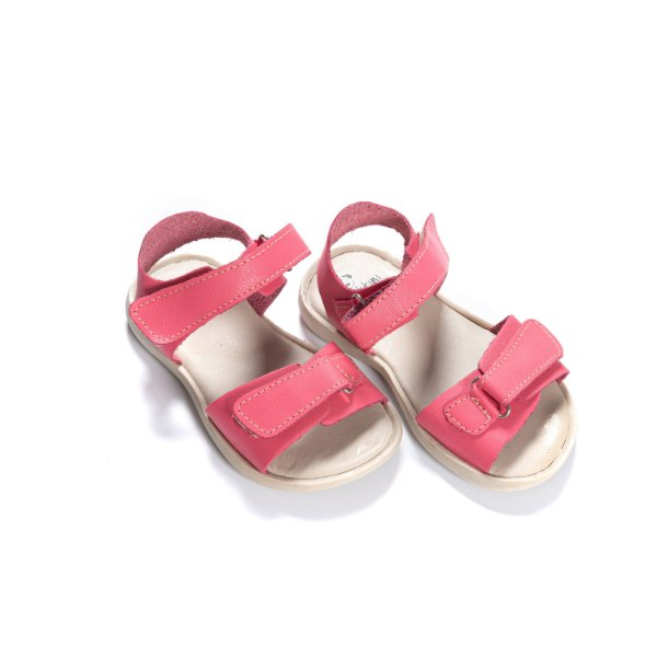 Sandália Infantil Couro - Rosa Chiclete