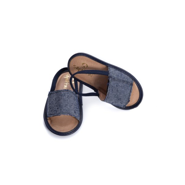 Chinelinho Baby slide - Jeans