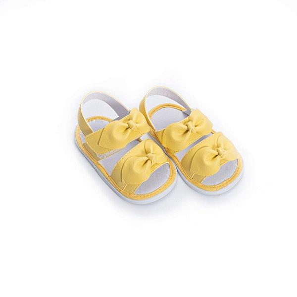 Sandália Baby Nozinho - Amarelo Baunilha