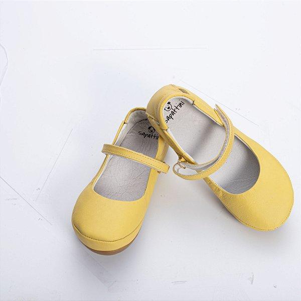 Sapatilha Confort Kids - Amarela