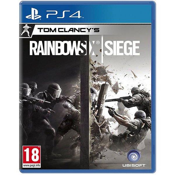 Jogo Tom Clancy's Rainbow Six: Siege - PS4