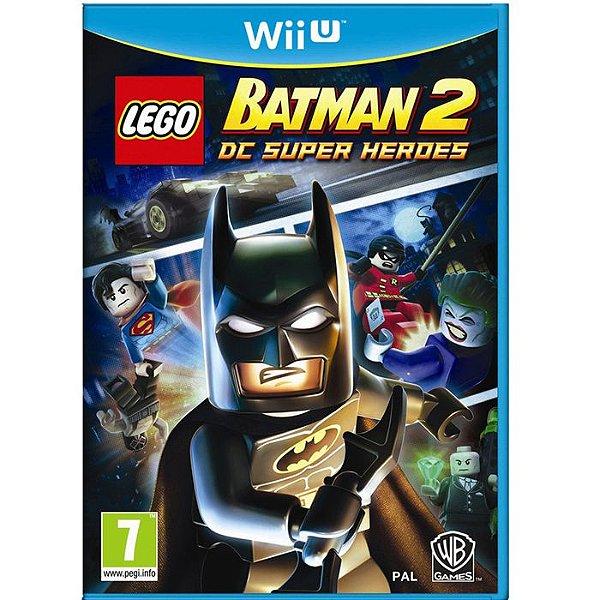 JOGO LEGO BATMAN 2 DC SUPER HEROES WII U