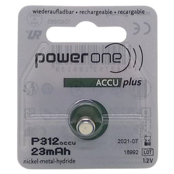Power One Recarregável - Accu Plus P312