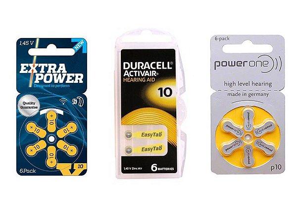 Combo de Baterias Auditivas - Tamanho 10 / PR70