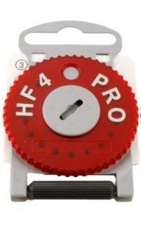 Protetor de cera - HF4 PRO - Vermelho (Direito) - Rexton