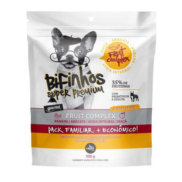 Bifinhos para Cachorro The French Co Super Premium Fruit Complex 300g