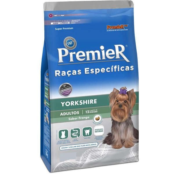 Ração Para Cachorro Premier Yorkshire Frango Adulto 2,5kg