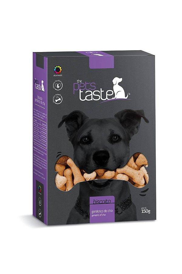 Biscoito Para Cachorro The Pet's Taste Geriático de Chia 150g