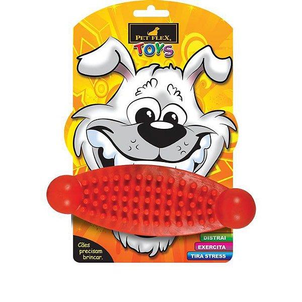 Brinquedos Para Cachorro Massageador Pet Flex Vermelho