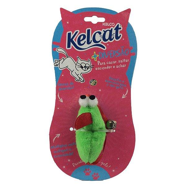 Brinquedo Para Gatos Kelcat Rato e Guizo