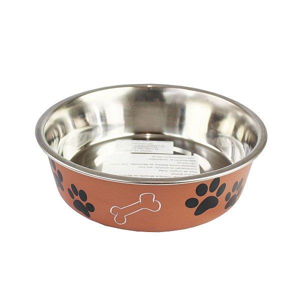 Comedouro Bebedouro Bella Bowl 17cm Loving Pets Copper