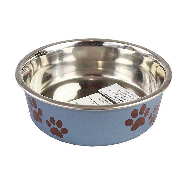 Comedouro Bebedouro Bella Bowl 14cm Loving Pets BlueBerry