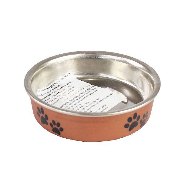 Comedouro Bebedouro Bella Bowl 11cm Loving Pets Copper