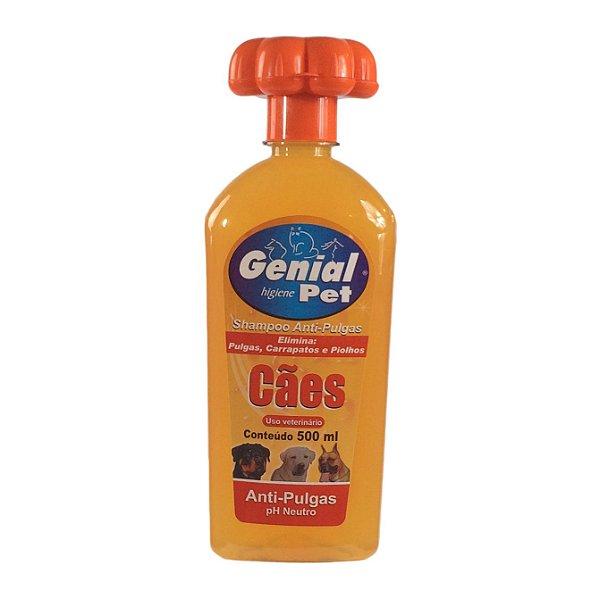 Shampoo Para Cachorro Anti-Pulgas Genial Pet