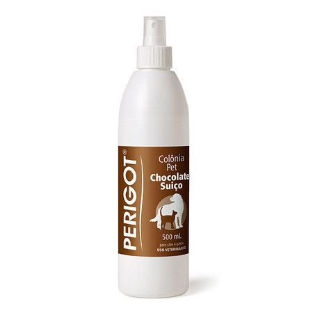 Perfume Colonia Pet Perigot Chocolate Suiço 500ml