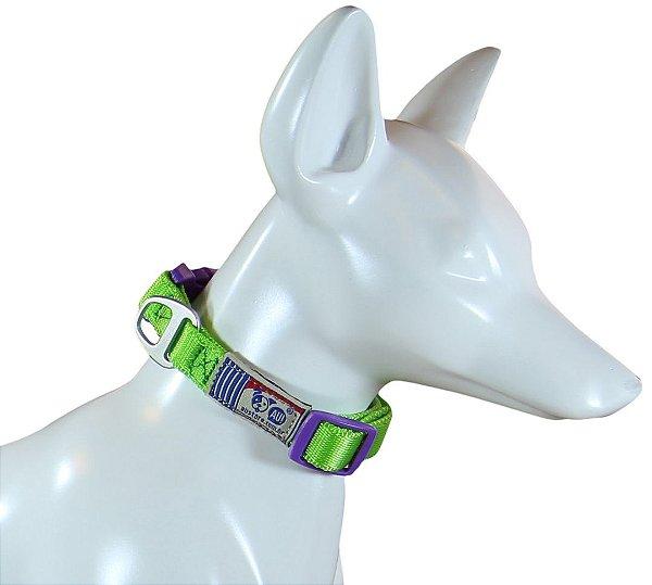 Coleira Para Cachorro Au Neon Green