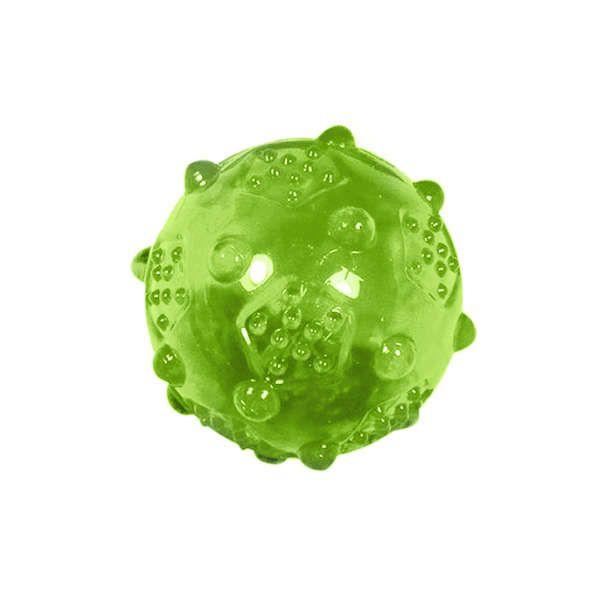 Brinquedos Para Cachorro Bola Pequena Sound Verde
