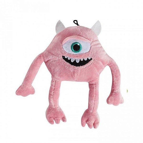 Brinquedos Para Cachorro Mordedor Pelúcia Monstro Rosa Grande
