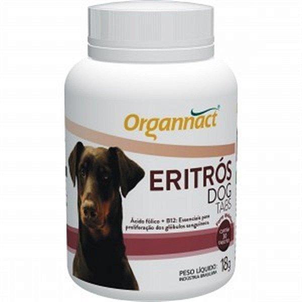 Suplemento Para Cachorro Organnact Eritrós Tabs