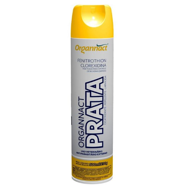 Spray Antibacteriano Organnact Prata 500ml