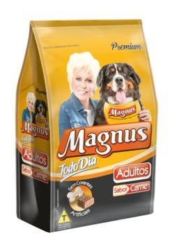 Ração Magnus Premium Todo Dia Carne Adulto