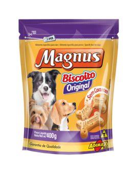 Petisco Biscoito Para Cachorro Magnus Original 400g