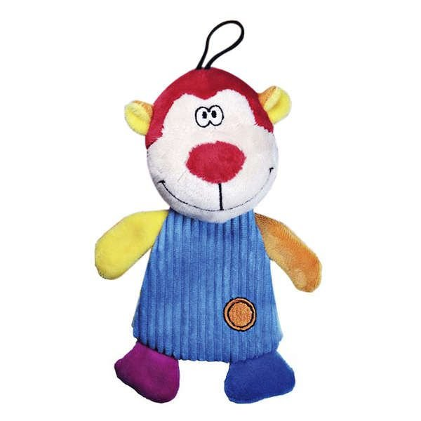 Brinquedo Para Cachorro Mordedor Pelúcia Fininho Macaco